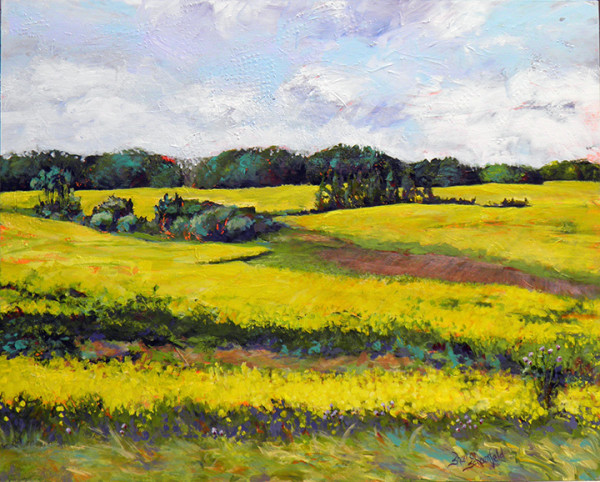 Golden Afternoon by Sharron Schoenfeld