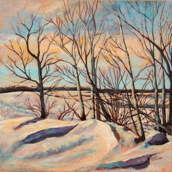 Winter Trees by Sharron Schoenfeld