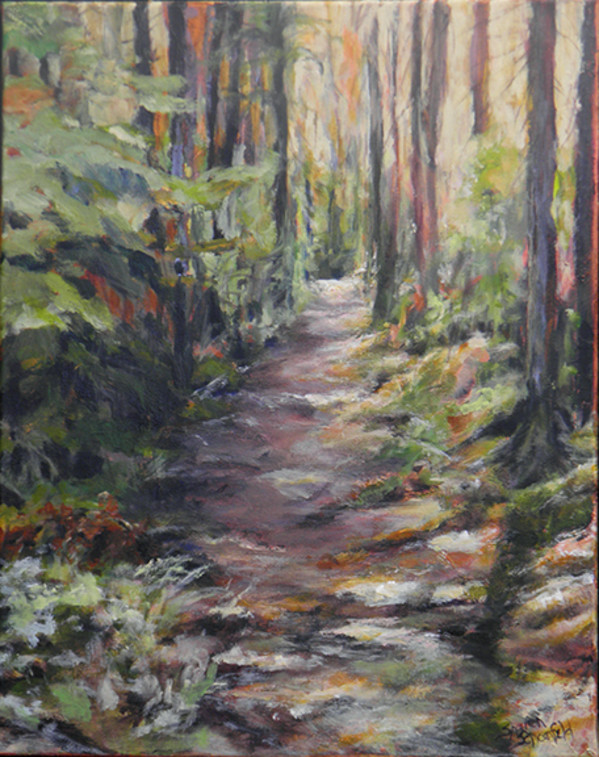 Path to Pinegrove by Sharron Schoenfeld