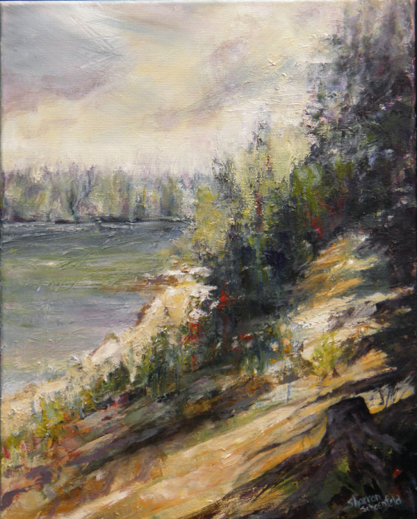 The Path, East Trout Lake by Sharron Schoenfeld