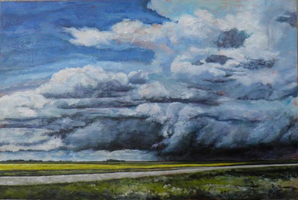 Under A Brooding Sky by Sharron Schoenfeld