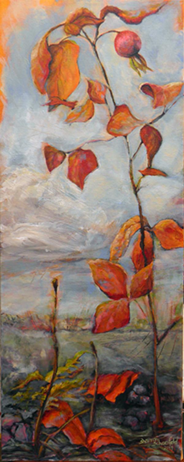 Wild Rosehip by Sharron Schoenfeld