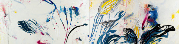 FRESH (diptych) by Laura Letchinger