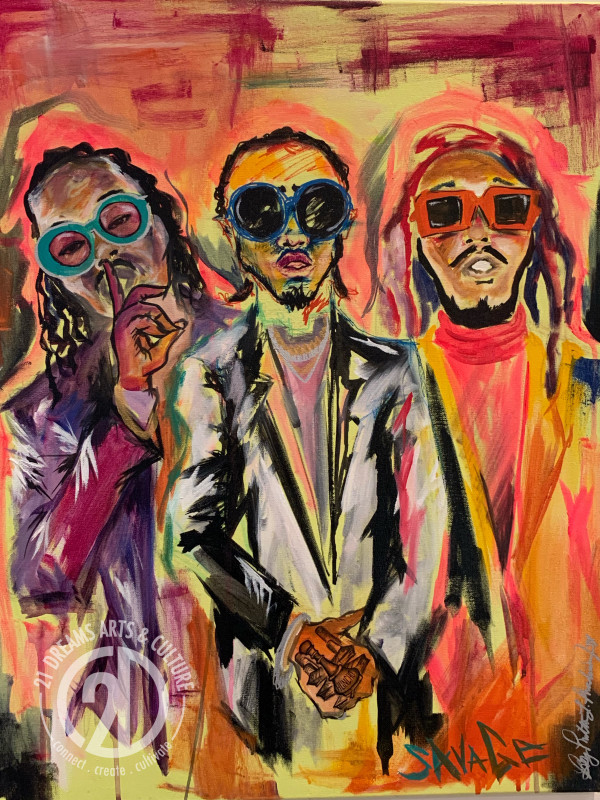 "Migos - ""Savage"" by Milton Madison"