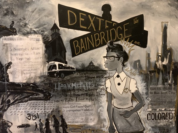 Claudette Colvin - Lost Files of Dexter & Bainbridge by Milton Madison