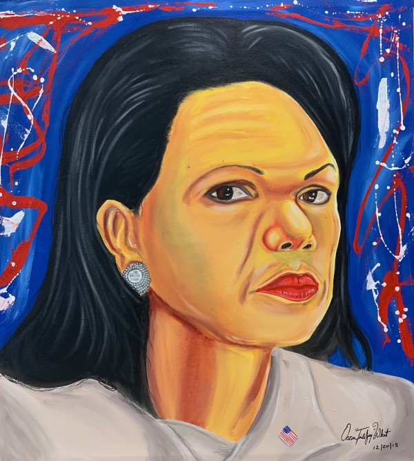"Condoleezza Rice by Oscar ""Trill Jay"" Wheat"