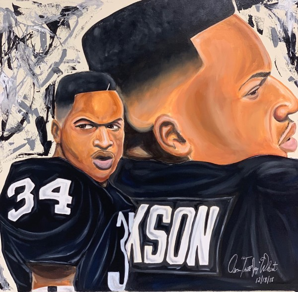 "Bo Jackson by Oscar ""Trill Jay"" Wheat"