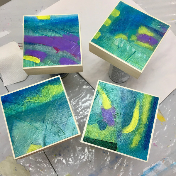 Ocean Spirits 1-2-3-4 by Julea Boswell