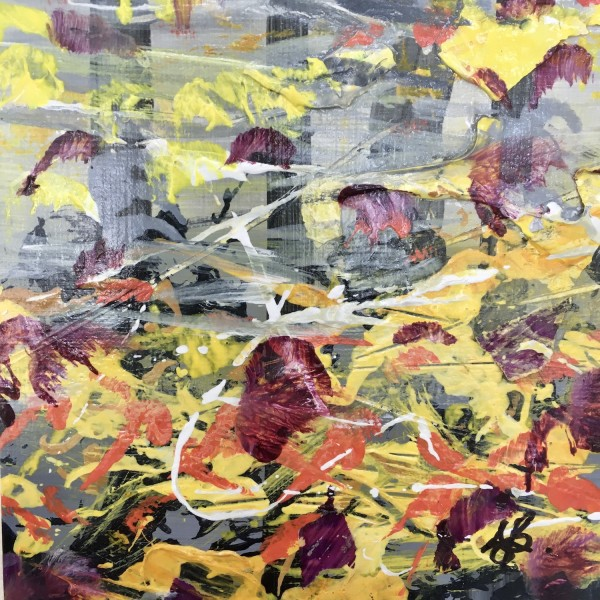 Awesome Autumn no.3 by Julea Boswell Art