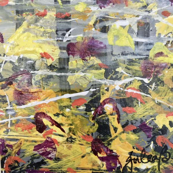 Awesome Autumn no.4 by Julea Boswell Art