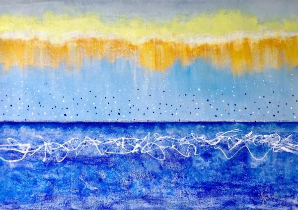Confetti Rain by Julea Boswell Art