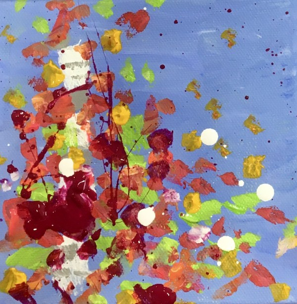 Fall Confetti no.3 by Julea Boswell