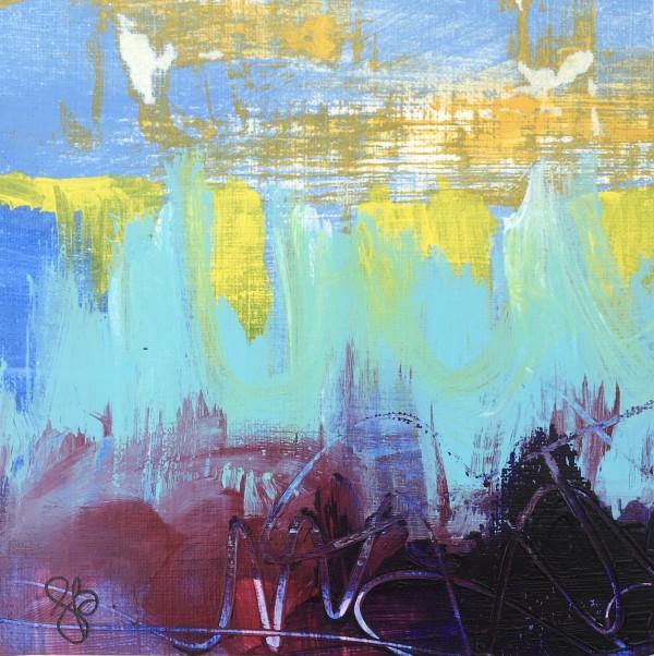 Cloudy 2 by Julea Boswell Art