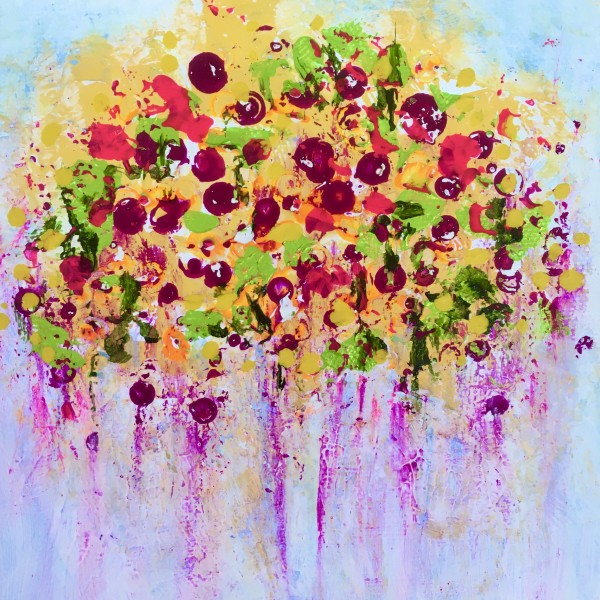 Say it with Flowers no.1 by Julea Boswell