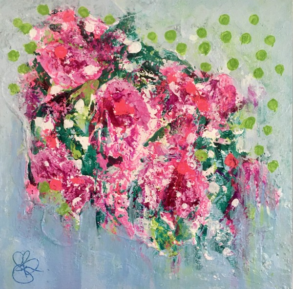 Chintz no.1 by Julea Boswell