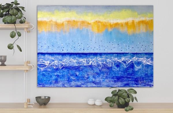 Confetti Rain by Julea Boswell