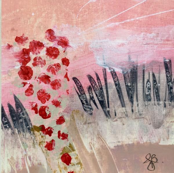 'Field Trip no. 1' mini painting by Julea Boswell Art