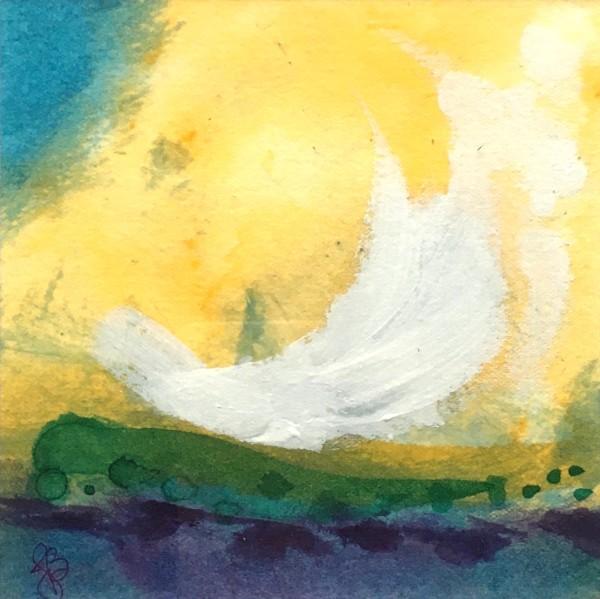 Ocean Joy no.2 by Julea Boswell Art