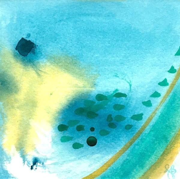 Ocean Joy no.4 by Julea Boswell Art