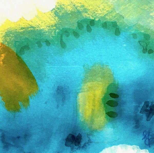 Ocean Joy no.6 by Julea Boswell Art