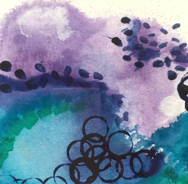 Ocean Joy no.12 by Julea Boswell Art