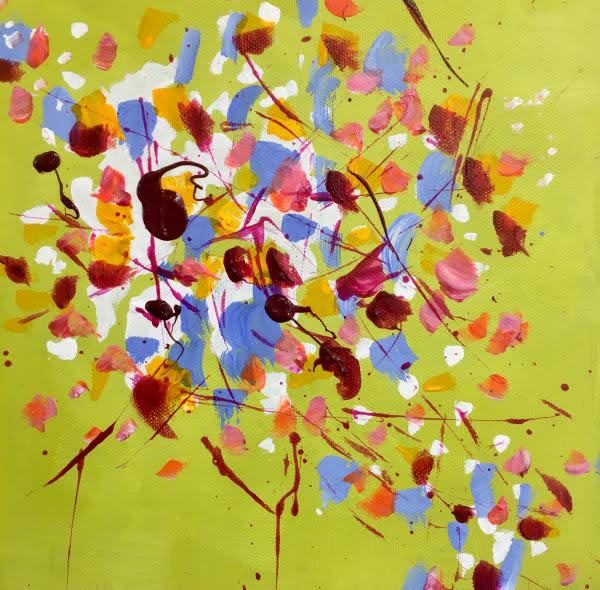 Autumn Breeze 1-2-3-4 by Julea Boswell Art