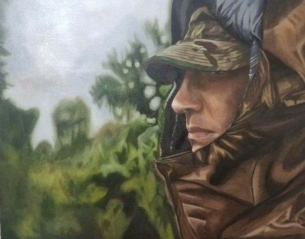 1000 Yard Stare by Ricardo Robles