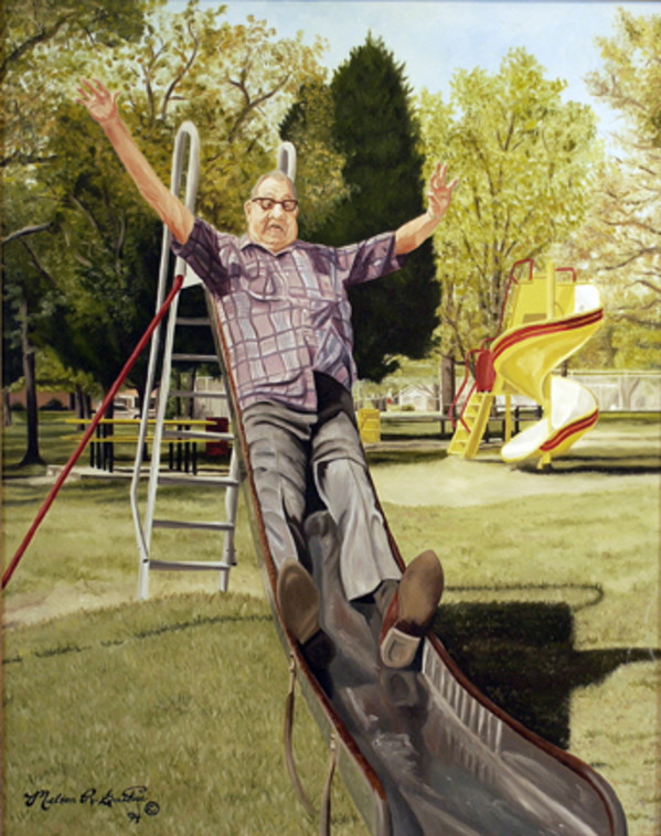 Sliding Into 70 by Melton Guthrie