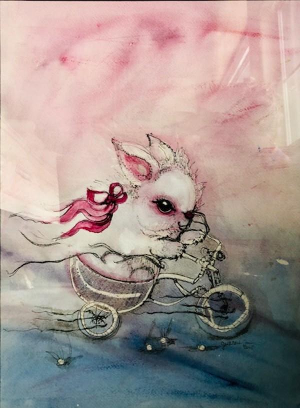 Born to be Wild Bunny!! by Judith Estrada Garcia