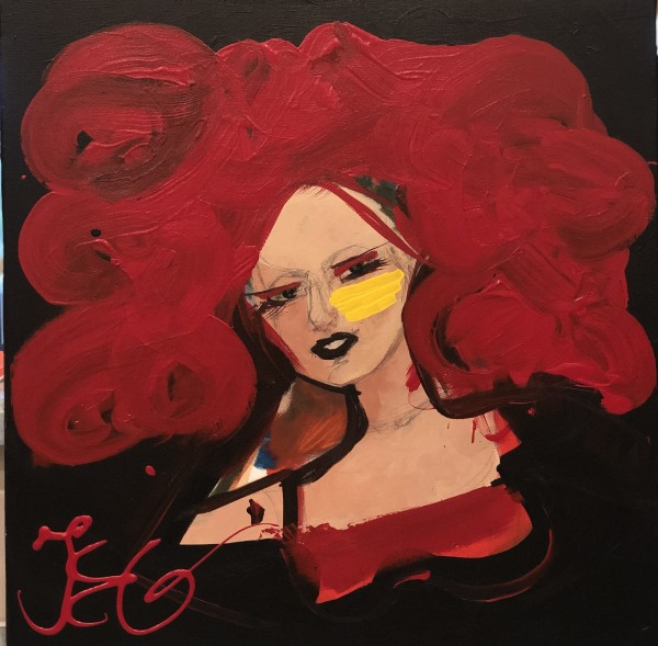 La Roja by Judith Estrada Garcia