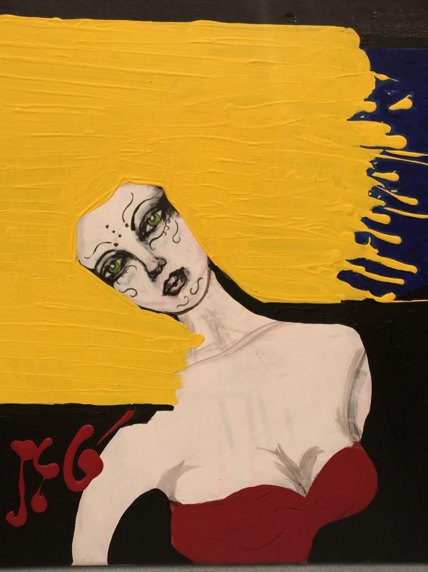 Feeling a Bit on Edge by Judith Estrada Garcia