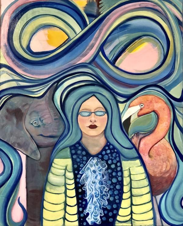 Between Elle and Flou by Judith Estrada Garcia