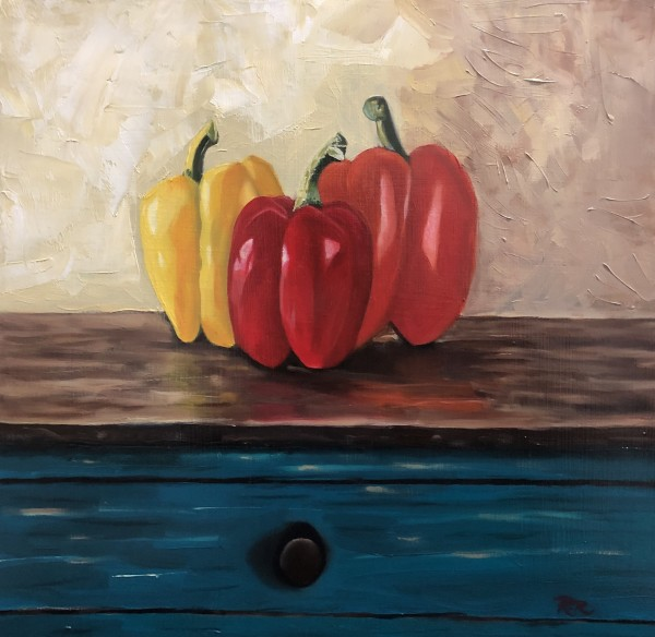 Peppers by Ricardo Robles