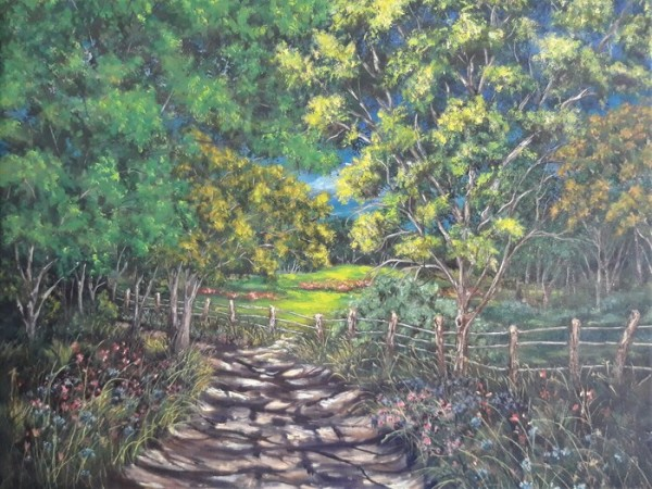 Scenes of Chalk Road by Denise Knebel