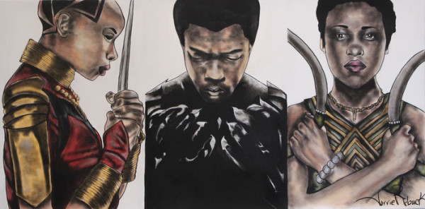 MARVEL'S Black Panther by Torrie Rebuck
