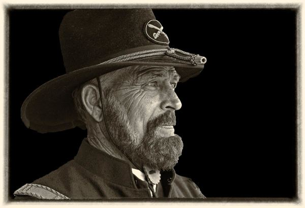 The Cavalry Captain at Fort Mason, Texas by Wes Odell