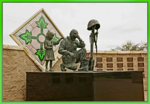 """I lost by buddy"" (4th Infantry Div Memorial - Fort Hood) by Wes Odell"