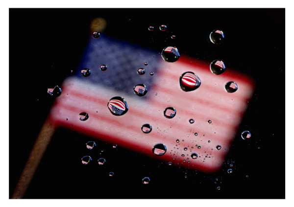 """""""After the Storm - Still Flying"""" Waterdrops (copy) by Wes Odell"""
