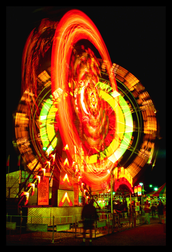 Spinning at the Fair by Wes Odell