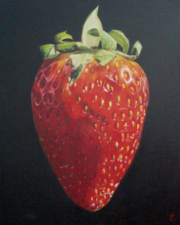 Strawberry by Anne-Marie Zanetti