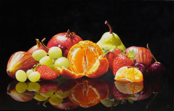 Fruit platter by Anne-Marie Zanetti