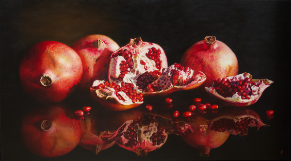 Pomegranate - Sweet Rubies by Anne-Marie Zanetti