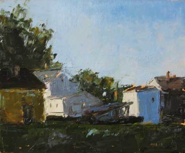 After 6, Summer Light, No 1 by MJ Blanchette