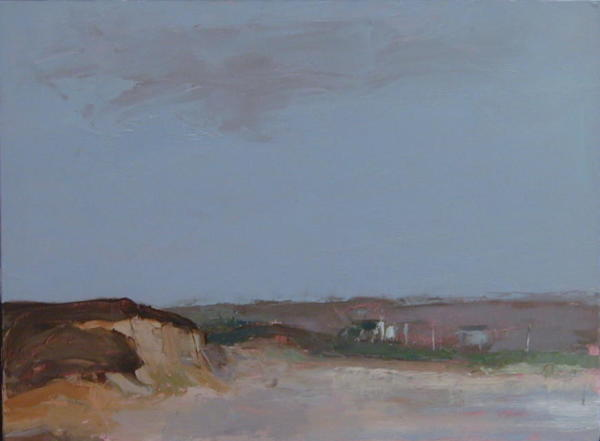 Houses at Block Island by MJ Blanchette