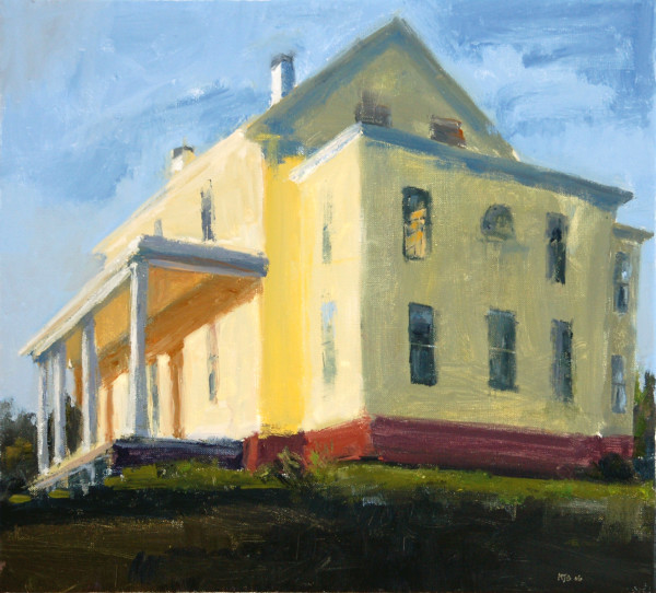 The Yellow House by MJ Blanchette