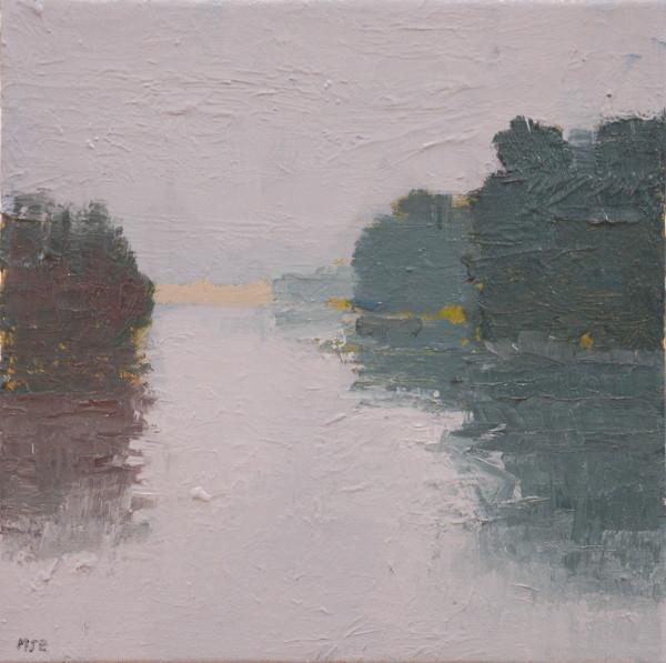 Chauncey Creek Fog by MJ Blanchette