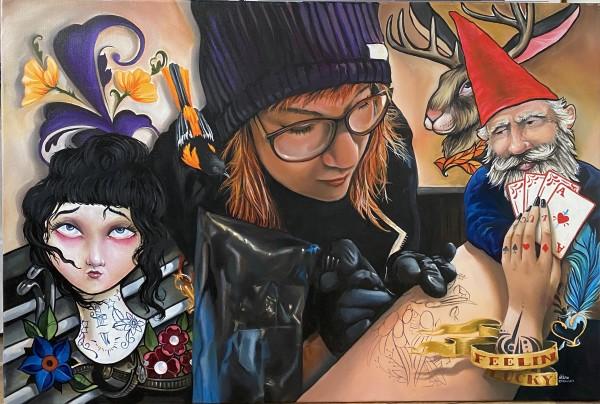 迈克尔·g·威尔兹的《纹身者诺拉》