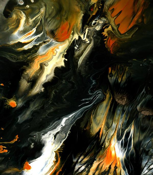 BLAZING FIRES #2 by Hannah Thomas