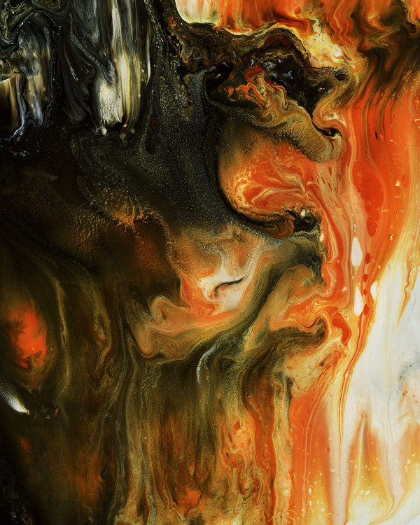 BLAZING FIRES #7 by Hannah Thomas