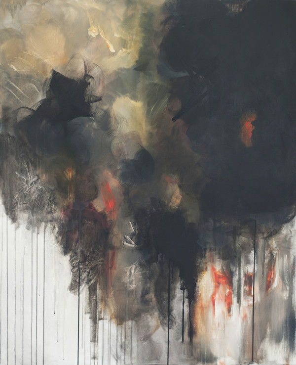 ENGULFED IN FLAMES #1 by Hannah Thomas